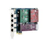 Digium 1AEX404EF 4 Port Modular Voice Board 1AEX404EF
