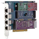 Digium 1TDM410PELF 4-Port Analog Voice Board 1TDM410PELF