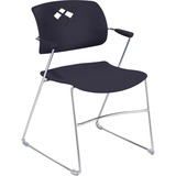 Safco Veer 4286BL Stacking Chair