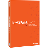 Microsoft PowerPoint:mac 2011 - 1 PC