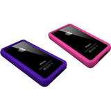 XtremeMac IPP-BO4-23 Skin for Smartphone - Pink, Purple
