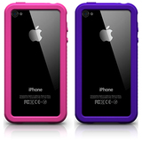 XtremeMac IPP-CUZ-33 Carrying Case for iPhone - Pink, Purple