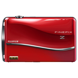 Fujifilm FinePix Z800EXR 12 Megapixel Compact Camera - 6.40 mm-32 mm - Red