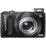 Fujifilm FinePix F300EXR 12 Megapixel Compact Camera - 4.40 mm-66 mm - Black