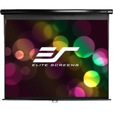 "Elite Screens Manual Projection Screen - 106"" - 16:9 - Ceiling Mount, Wall Mount M106UWH-E24"
