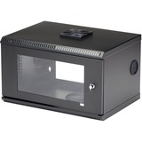 "StarTech.com 6U 19"" Wall Mount Server Rack Cabinet Acrylic Door - RK619WALL"
