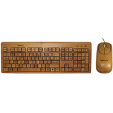 Impecca Bamboo Keyboard & Mouse