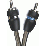 Tsunami RCA7014-17 Audio Cable - 17 ft - Gray