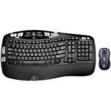 Logitech Wireless Wave Combo MK550 Keyboard and Mouse 920-002808