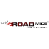 Road Mice Mouse - Optical - Wireless - Radio Frequency - Blue