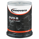 Innovera 46890 DVD Recordable Media - DVD-R - 16x - 4.70 GB - 100 Pack Spindle