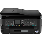 Epson WorkForce 635 Inkjet Multifunction Printer - Color - Photo Print - Desktop