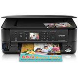 Epson Stylus NX625 Inkjet Multifunction Printer - Color - Plain Paper Print - Desktop