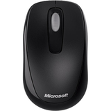 Microsoft 1000 Mouse Wireless - Black - 3RF00004