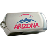 Centon DataStick Twist Collegiate University of Arizona Flash Drive - 4 GB