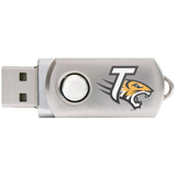 Centon DataStick Twist Collegiate Towson University Flash Drive - 4 GB