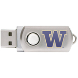 Centon DataStick Twist Collegiate University of Washington Flash Drive - 4 GB