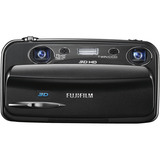 Fujifilm FinePix W3 10 Megapixel 3D Compact Camera - Black 16082969