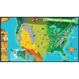 LeapFrog Tag 24025 United States of America Map Story BookStory Printed Book