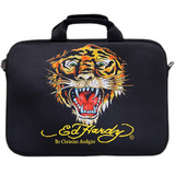 Ed Hardy EC05GATTIG BLK Carrying Case for 16' Notebook - Black