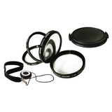 Bower VFK55C Filter Kit - Ultraviolet, Neutral Density, Polarizer Filter VFK55C