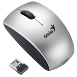 Genius 900LS Mouse - Laser Wireless - Silver - Retail