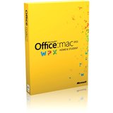 Microsoft Office:mac 2011 Home & Student - Complete Product - 1 Install GZA-00138