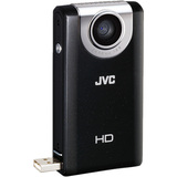 JVC PICSIO GC-FM2 Digital Camcorder - 3' LCD - Touchscreen - CMOS - Black