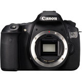 Canon EOS 60D 18 Megapixel Digital SLR Camera (Body Only) - Black