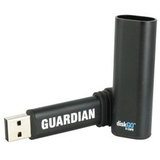 EDGE DiskGO Secure GUARDIAN EDGDM-228057-PE Flash Drive - 4 GB - EDGDM228057PE