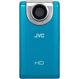 JVC PICSIO GC-FM2 Digital Camcorder - 3' LCD - Touchscreen - CMOS - Blue