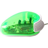 RTM-083 - My Lil' Mouse One Button Mouse Green Kids Computer Mouse