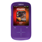 SanDisk Sansa Fuze SDMX20R 8 GB Purple Flash Portable Media Player