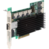 Intel RS2SG244 SAS RAID Controller - Serial ATA/600, Serial Attached SCSI - PCI Express 2.0 x8 - Plug-in Card