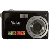 Vivitar ViviCam X327 10.1 Megapixel Compact Camera - Black