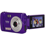 Vivitar ViviCam X018 10.1 Megapixel Compact Camera-7.23 mm - Grape