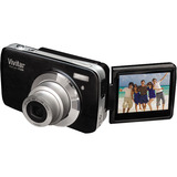 Vivitar ViviCam F536 14 Megapixel Compact Camera - 6 mm-18 mm - Black