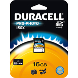 Duracell DUSD616GC Secure Digital High Capacity (SDHC)