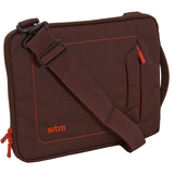 STM DP-2139-2 Tablet PC Case - Nylon - Chocolate, Orange
