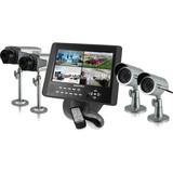 SecurityMan LCDDVR4-80K Video Surveillance System