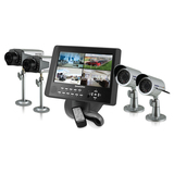 SecurityMan LCDDVR4-80 Video Surveillance System LCDDVR4-80