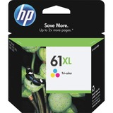 HP No. 61XL Ink Cartridge - Cyan, Magenta, Yellow - CH564WN