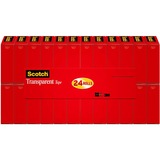 Scotch 600K24 Transparent Tape Refill