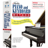 EK02101 - Emedia Music Piano and Keyboard Method v.3.0 - Complete Product - 1 User