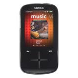 SanDisk Sansa Fuze+ SDMX20 4 GB Black Flash Portable Media Player SDMX20R-004GK-C57