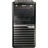 Acer Veriton VM275-UD5700W Desktop Computer - Pentium E5700 3 GHz - Mini-tower - Black, Silver