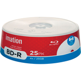 Imation 27792 Blu-ray Recordable Media - BD-R - 4x - 25 GB - 25 Pack Spindle