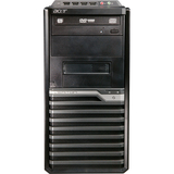 Acer Veriton VM430G-UD250W Desktop Computer - Athlon II X2 250 3 GHz - Mini-tower - Black, Silver