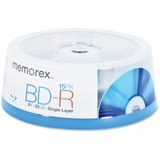 Memorex 98683 Blu-ray Recordable Media - BD-R - 6x - 25 GB - 15 Pack Spindle