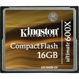 Kingston Ultimate CF/16GB-U3 CompactFlash (CF) Card